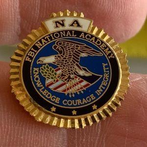 FBI National Academy Lapel/Tie Pin